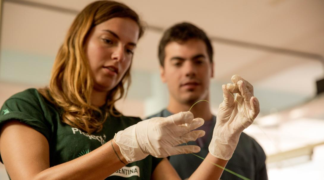 Students gain dentistry and medical work experience by learning from local medical professionals in Argentina